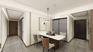 富裕型100平米三室三厅轻奢风格餐厅图片大全