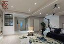 富裕型120平米复式北欧风格客厅图片