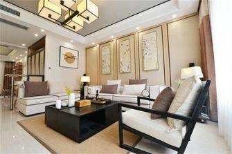 富裕型120平米三室两厅中式风格客厅图片大全