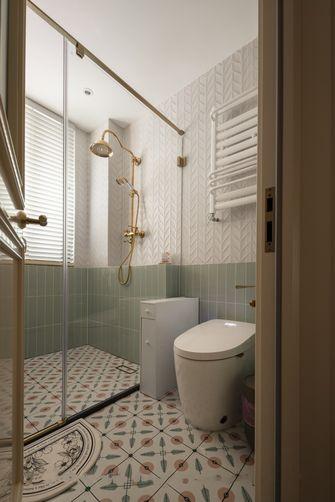 富裕型90平米三室两厅法式风格卫生间设计图