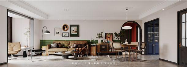 富裕型130平米法式风格客厅图片