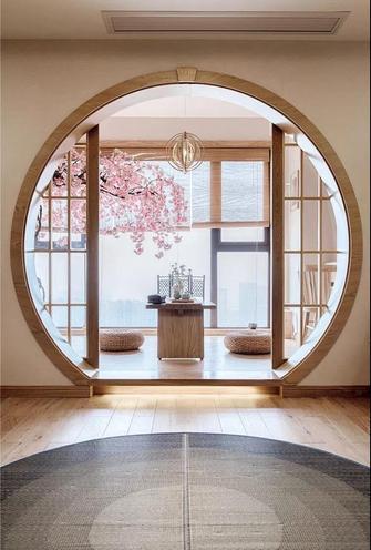 10-15万130平米三室两厅日式风格阳台设计图