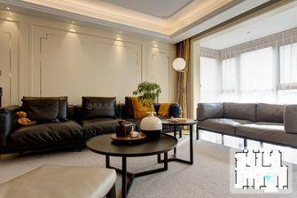 经济型140平米四美式风格客厅装修案例