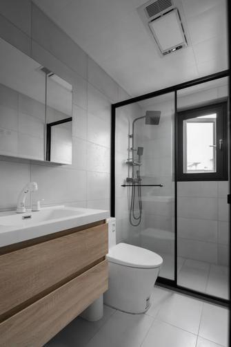 经济型120平米三室两厅现代简约风格卫生间装修效果图