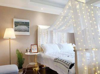 10-15万110平米三北欧风格卧室设计图