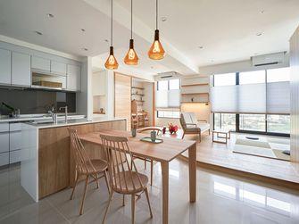 15-20万130平米三室一厅日式风格餐厅设计图