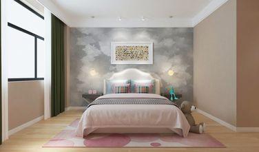 140平米三室一厅法式风格卧室图