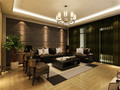 140平米四室一厅混搭风格客厅设计图