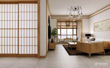 20万以上120平米三室两厅日式风格客厅图片