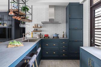 豪华型90平米公寓混搭风格厨房装修图片大全