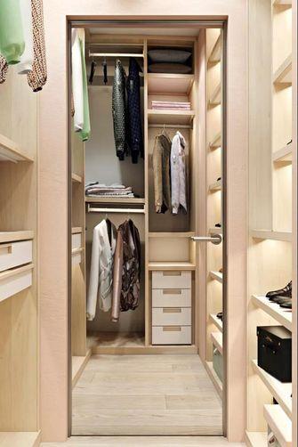 50平米公寓现代简约风格衣帽间装修效果图