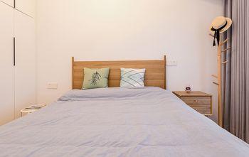 80平米三室两厅北欧风格卧室欣赏图