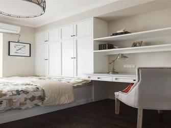 5-10万90平米三室一厅美式风格卧室装修图片大全