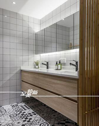 富裕型90平米三室两厅北欧风格卫生间设计图