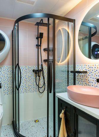 10-15万80平米一室两厅北欧风格卫生间效果图