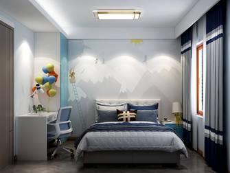 140平米四室两厅轻奢风格青少年房设计图