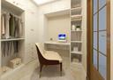 10-15万90平米美式风格书房装修案例