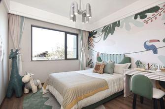 140平米三室一厅田园风格卧室装修案例