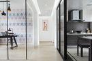 富裕型90平米三室两厅英伦风格走廊效果图