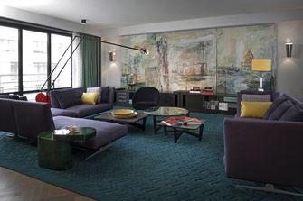 60平米公寓工业风风格客厅装修效果图