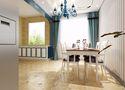 富裕型60平米一室一厅地中海风格餐厅效果图