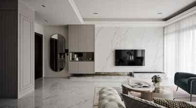 130平米三室一厅法式风格客厅图片