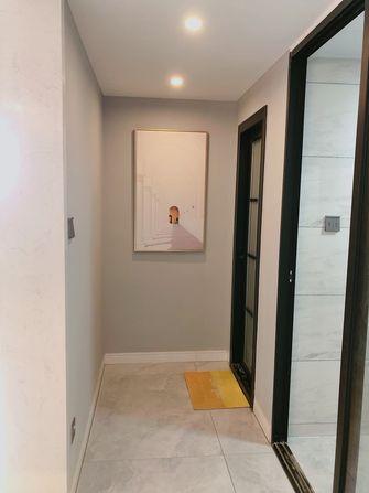 富裕型三室两厅轻奢风格走廊效果图