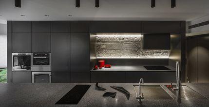 140平米四室两厅工业风风格厨房装修案例