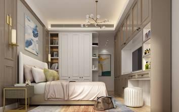 100平米三轻奢风格卧室欣赏图