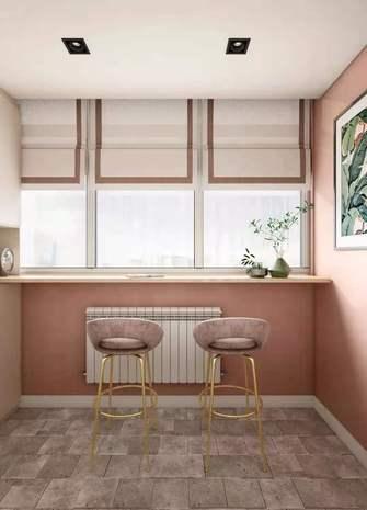 经济型60平米一室一厅北欧风格阳台图片