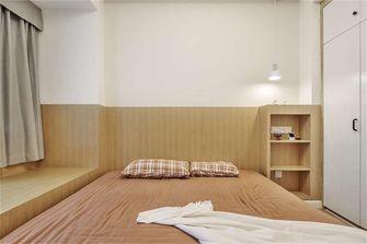 富裕型70平米三室两厅北欧风格卧室装修案例