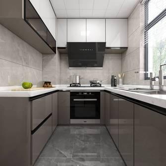 20万以上140平米三室三厅轻奢风格厨房图片大全