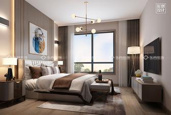 豪华型140平米四室四厅现代简约风格卧室图片
