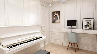 20万以上130平米三室一厅美式风格书房效果图