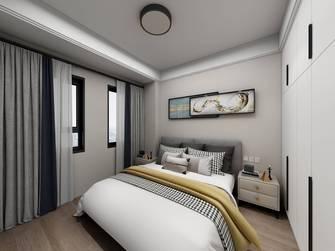 110平米三室三厅现代简约风格卧室图