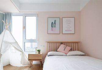 140平米四室一厅北欧风格卧室图