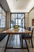 50平米一室一厅北欧风格餐厅设计图