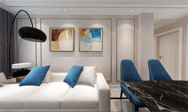 100平米三室两厅轻奢风格走廊装修效果图