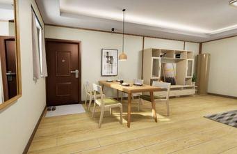 90平米一居室日式风格餐厅装修效果图