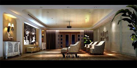 豪华型140平米别墅欧式风格影音室效果图