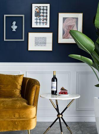 富裕型130平米一室一厅轻奢风格客厅效果图