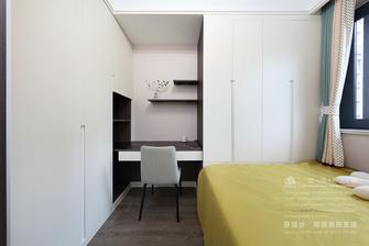 富裕型90平米三室两厅北欧风格青少年房装修图片大全