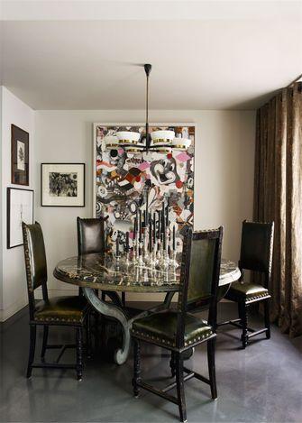 富裕型60平米一室一厅美式风格餐厅装修效果图