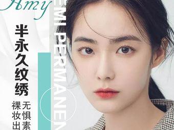 Amy半永久纹绣纹眉美瞳线水晶唇(普陀店)