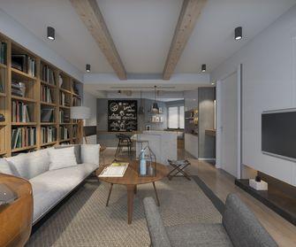 3-5万50平米小户型北欧风格客厅图片