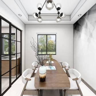 10-15万60平米三室一厅现代简约风格餐厅设计图