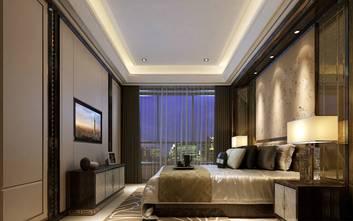 20万以上140平米复式新古典风格卧室图片