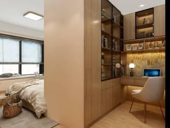 5-10万130平米三室两厅日式风格书房图片大全