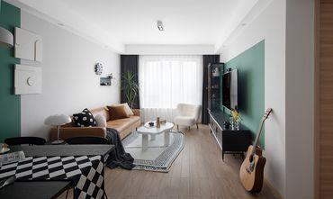 10-15万70平米现代简约风格客厅图片