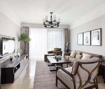 经济型100平米三室一厅美式风格客厅装修效果图